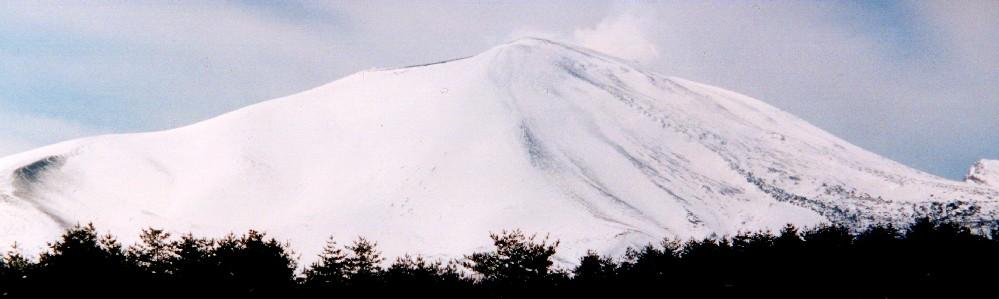 浅間山の冬