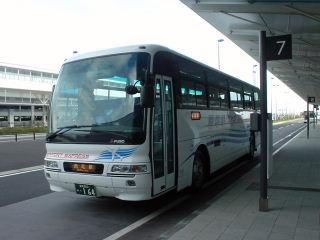 名鉄東部観光バス 西尾行き