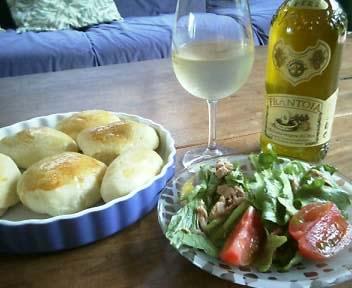 オリーブオイルとワイン