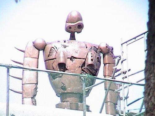 ロボット兵途中アップ