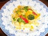 有機野菜とからすみORE完成