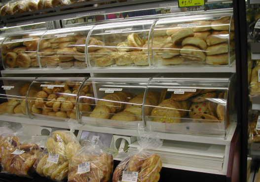マーケットのパン