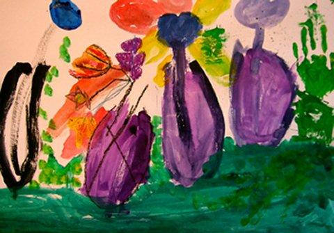 子供絵画教室 花に挑戦 | アトリエ遊花 - 楽天ブログ