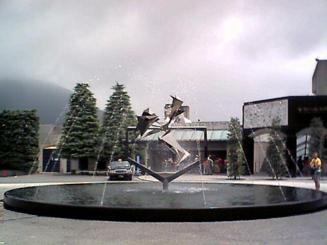 彫刻の森美術館の入り口