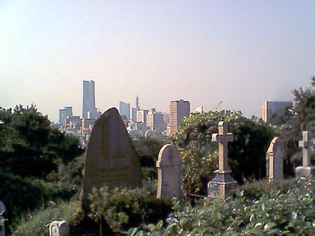 外人墓地2