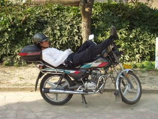 バイクのおっちゃん