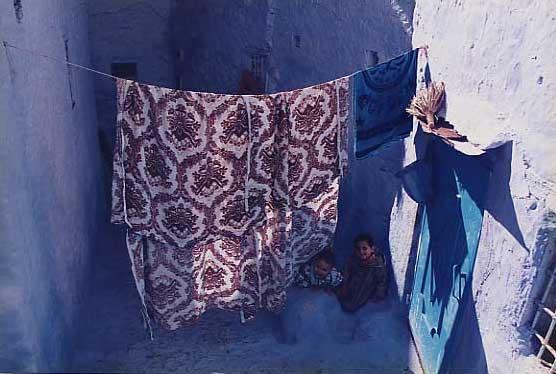 モロッコの子供たち