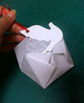 ハート 折り紙 : 紙風船の折り方 : plaza.rakuten.co.jp