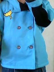 子供用マジジャケットブルー