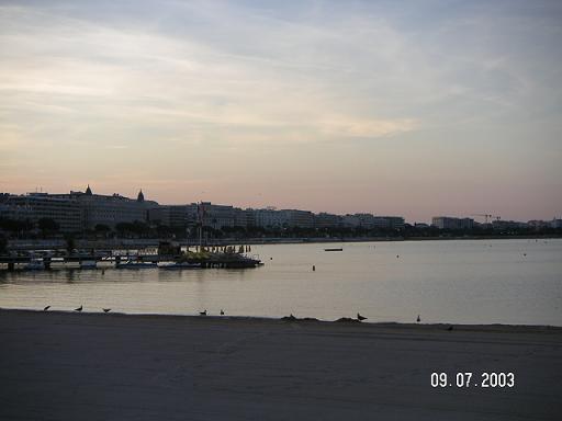 le matin a Cannes