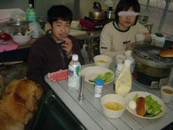 キャンプ朝食ラルも。