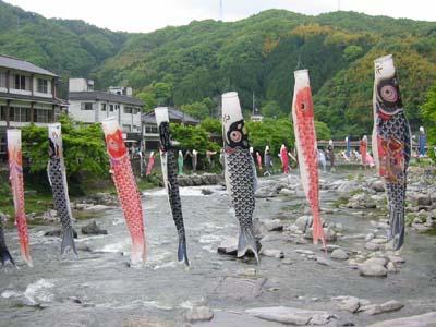 香嵐渓 こいのぼり2
