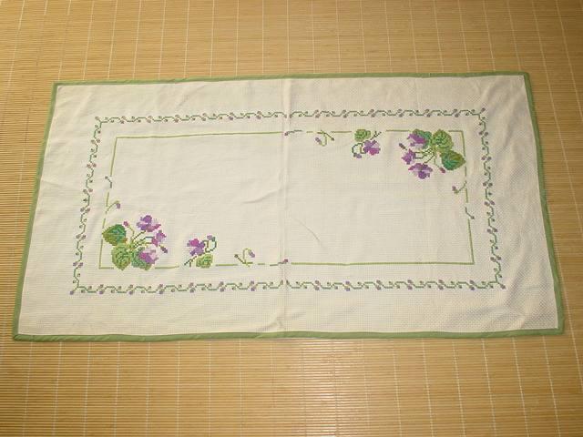 11月バァ~バの刺繍