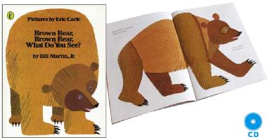 Brown Bear, Brown Bear, What Do You See?本とCDセット