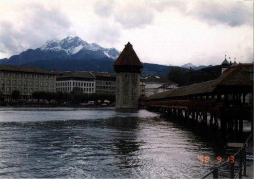 ルツェルンのシュプロイヤー橋