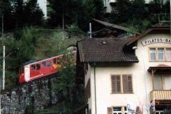 ピラトウス登山鉄道