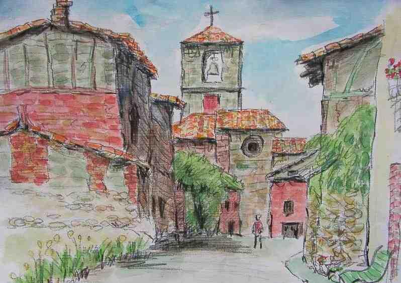 巡礼路の教会