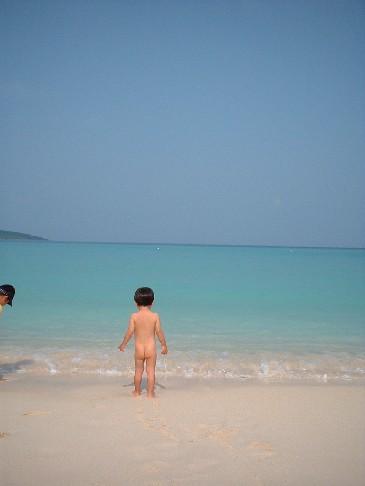 海辺の子供2