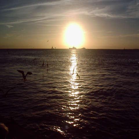キーウェストの夕日