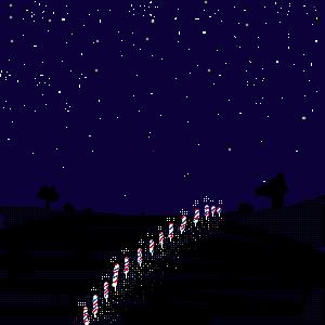 アフリカの夜