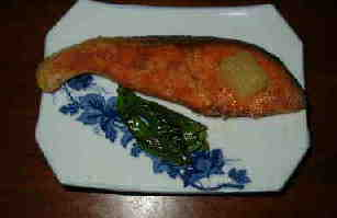 紅鮭のムニエル