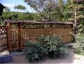 屋根付竹垣横型