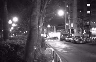早稲田鶴巻町の夜 1978年