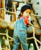 少年若かりし頃