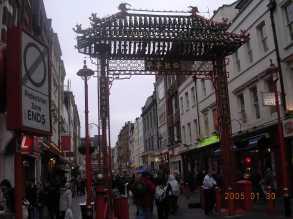倫敦・中華街