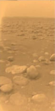 タイタン着陸写真