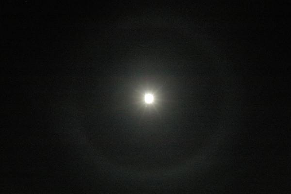 月の輪(^^)