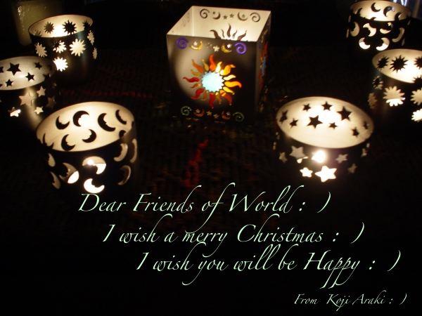 クリスマスカード:)