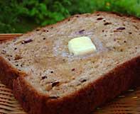 ぶどうパンにバターとろ~~