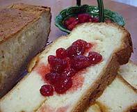 節約パンと苺ジャム