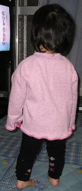 みのりん着用ラグピンク