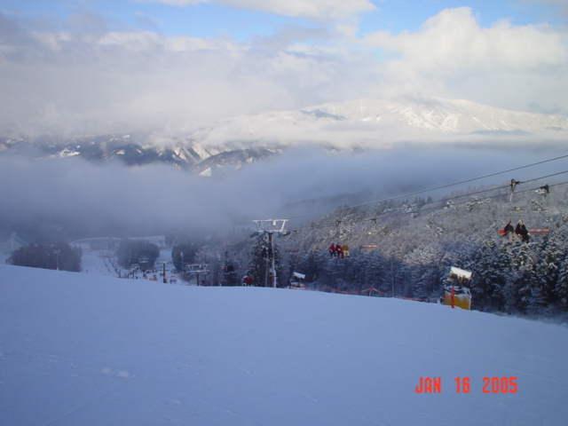 鷲ヶ岳05年1月