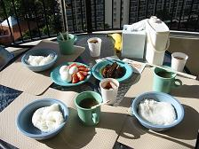 三日目朝食