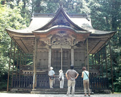 1795(寛政7)年に再建された本殿