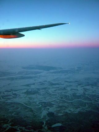 シベリアの夜明け