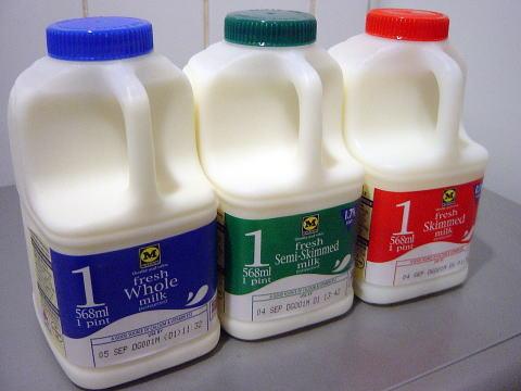 3種のミルク