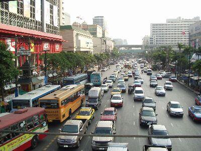 バンコクの町並み