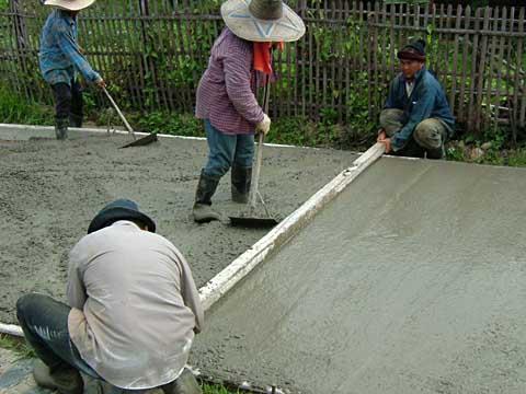 コンクリート舗装(2)
