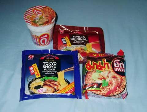 タイのインスタント麺