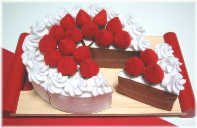 変身ケーキ