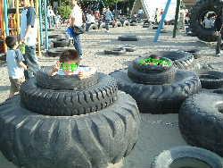 タイヤ公園1