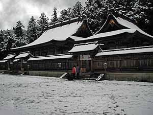 雪の本宮大社