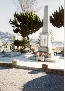 フランス人兵士墓地(7名を埋葬)