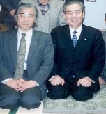 池田行彦衆議院議員の政治活動報告会にて