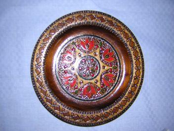ポーランドの木皿