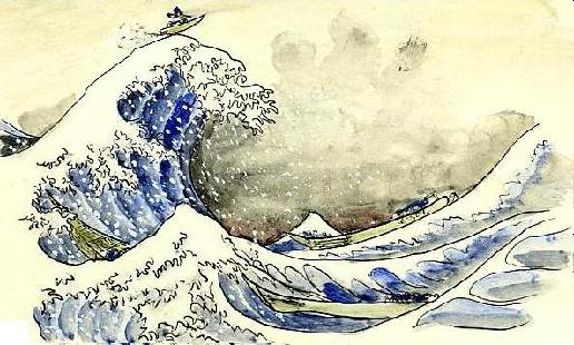 サーフィン富士